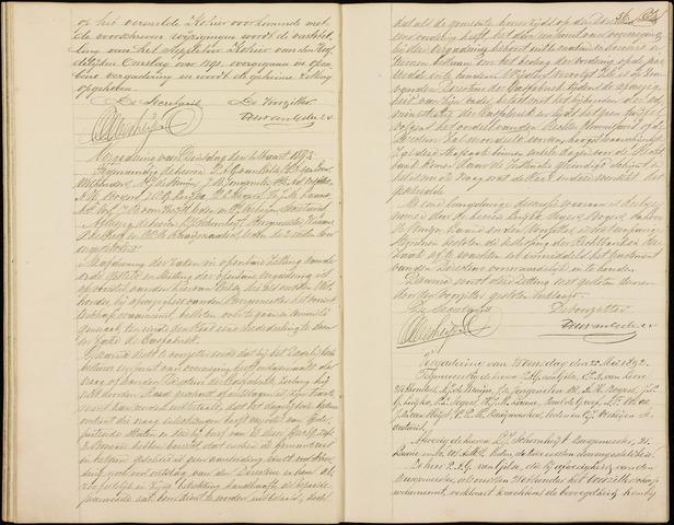 Roosendaal: Notulen gemeenteraad (besloten), 1851-1916 1892