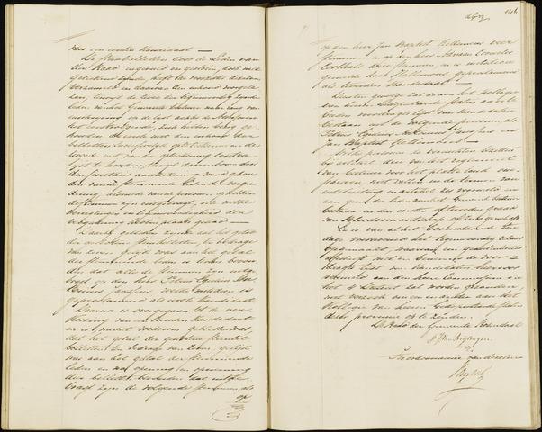 Roosendaal: Notulen, 1830-1851 1847