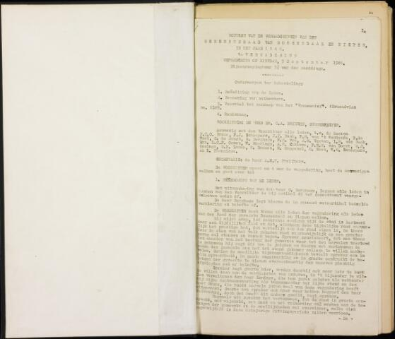 Roosendaal: Notulen gemeenteraad, 1916-1999 1947