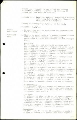 Dinteloord: Notulen gemeenteraad, 1946-1996 1966