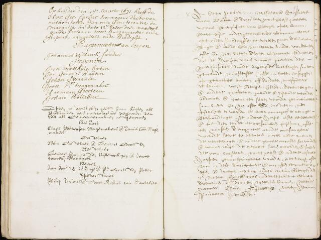 Wouw: Registers van resoluties, 1593-1811 1671