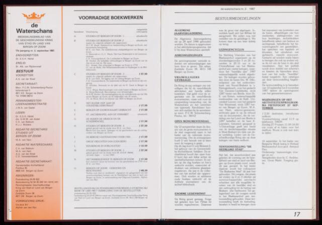 De Waterschans 1987-09-01