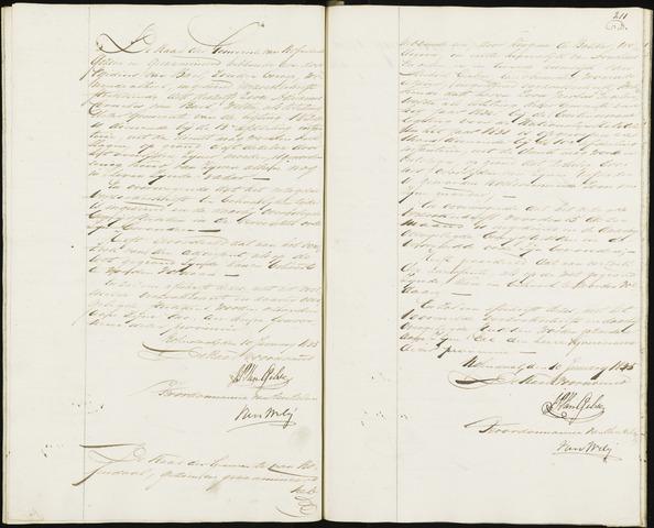 Roosendaal: Notulen, 1830-1851 1835