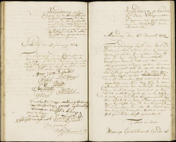 Wouw: Registers van resoluties, 1593-1811 1772