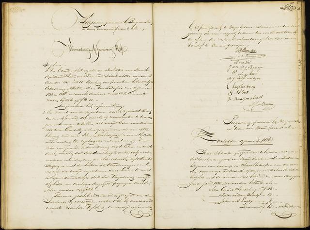 Wouw: Notulen gemeenteraad, 1813-1996 1836