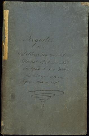 Wouw: Notulen gemeenteraad, 1813-1996 1813