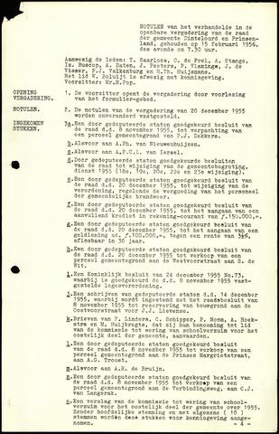 Dinteloord: Notulen gemeenteraad, 1946-1996 1956