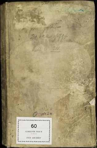 Wouw: Registers van resoluties, 1593-1811 1792