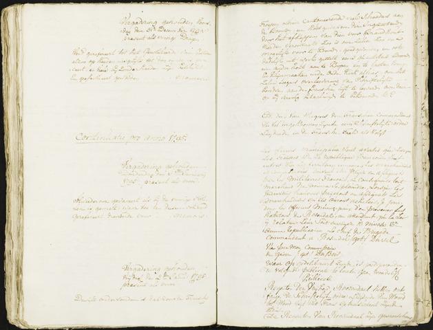 Roosendaal: Registers van resoluties, 20 juli 1794 - 22 juni 1811 1795