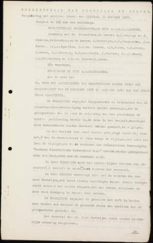 Roosendaal: Notulen gemeenteraad (besloten), 1919-1935 1928