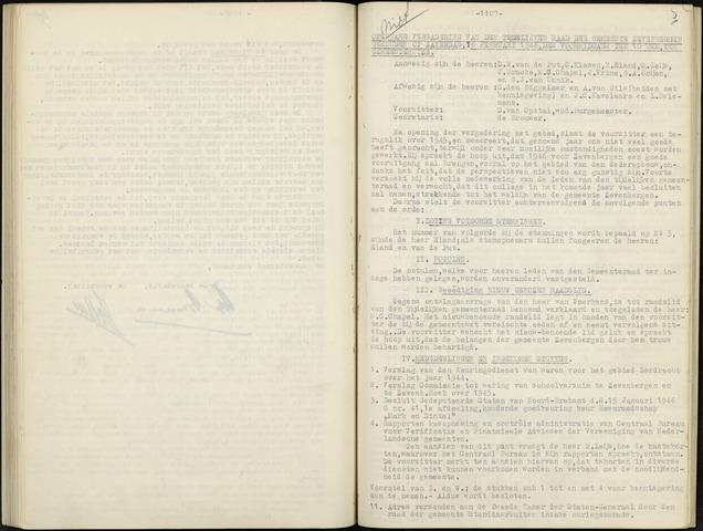 Zevenbergen: Notulen gemeenteraad, 1930-1996 1946-01-01