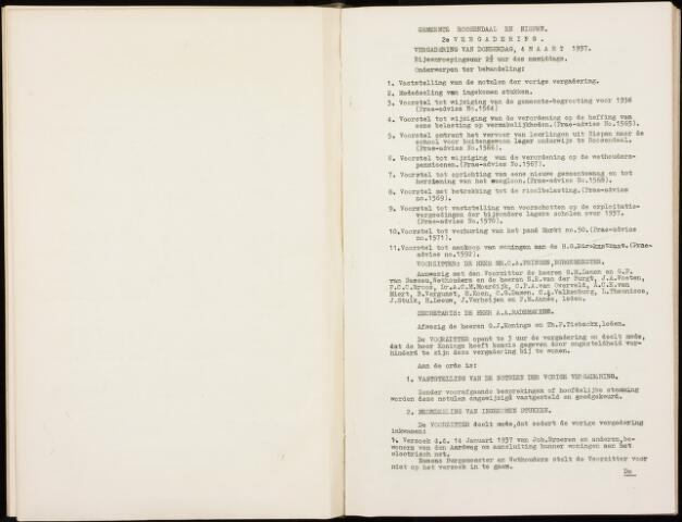 Roosendaal: Notulen gemeenteraad, 1916-1999 1937