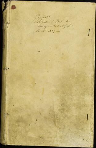 Roosendaal: Notulen van burgemeester en assessoren, 1827-1851 1828