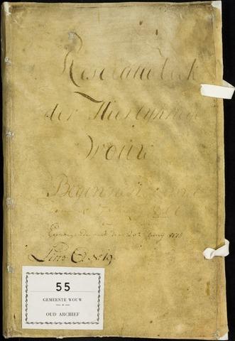 Wouw: Registers van resoluties, 1593-1811 1766