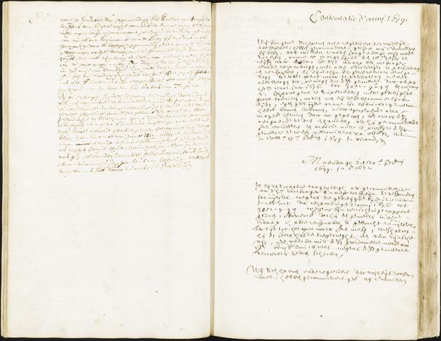 Roosendaal: Registers van resoluties, 1671-1673, 1675, 1677-1795 1679
