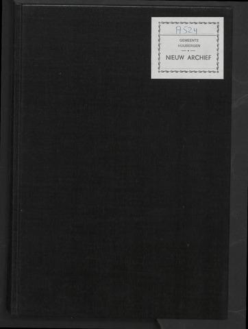 Huijbergen: Notulen gemeenteraad 1935-1996 1961-01-01