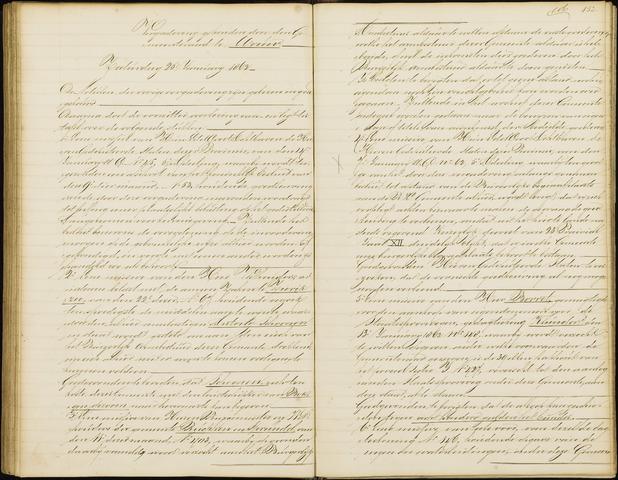 Wouw: Notulen gemeenteraad, 1813-1996 1862