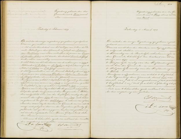 Wouw: Notulen gemeenteraad, 1813-1996 1879