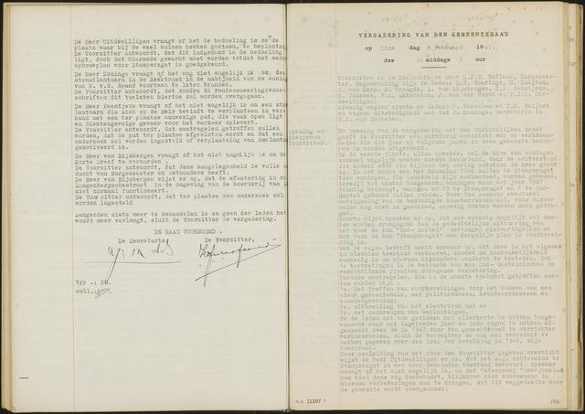 Oud en Nieuw Gastel: Notulen gemeenteraad, 1938-1980 1947-01-01
