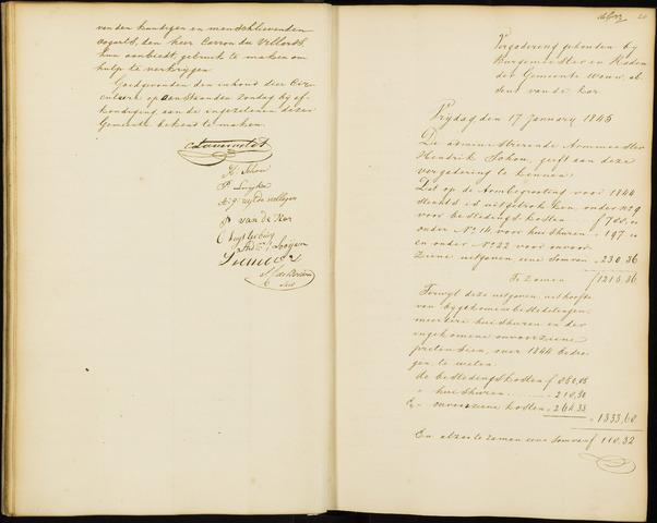 Wouw: Notulen gemeenteraad, 1813-1996 1845