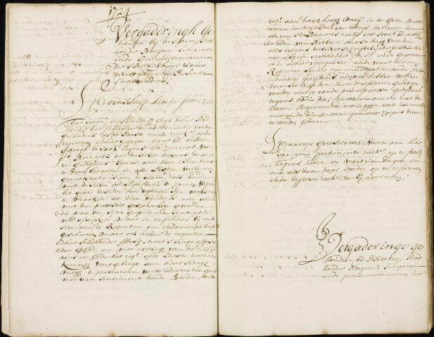 Wouw: Registers van resoluties, 1593-1811 1724