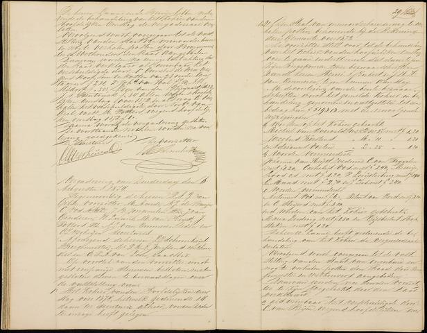 Roosendaal: Notulen gemeenteraad (besloten), 1851-1916 1874