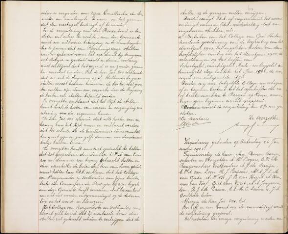 Roosendaal: Notulen gemeenteraad, 1851-1917 1901