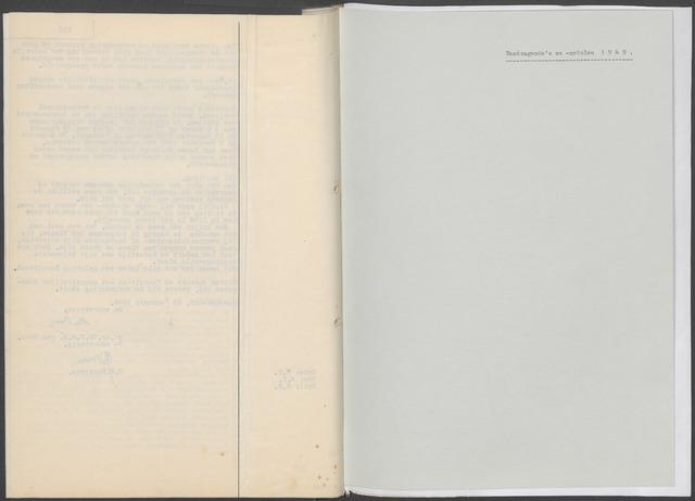 Etten-Leur: Notulen gemeenteraad, 1936-1979 1949-01-01