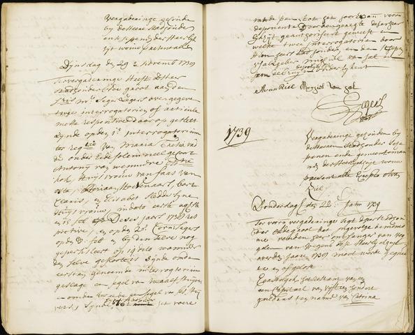 Wouw: Registers van resoluties, 1593-1811 1739