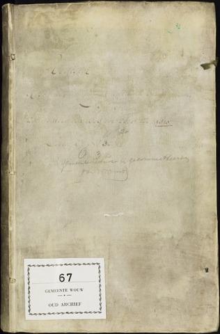Wouw: Registers van resoluties, 1593-1811 1803
