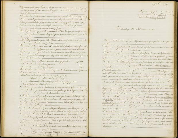 Wouw: Notulen gemeenteraad, 1813-1996 1881