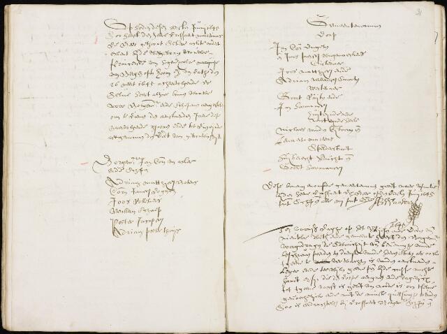 Wouw: Registers van resoluties, 1593-1811 1645