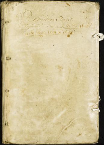 Roosendaal: Registers van resoluties, 1671-1673, 1675, 1677-1795 1687