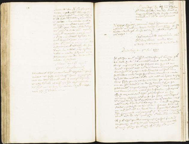 Roosendaal: Registers van resoluties, 1671-1673, 1675, 1677-1795 1692