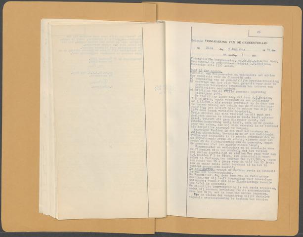 Etten-Leur: Notulen gemeenteraad (besloten), 1946-1950 1949-01-01