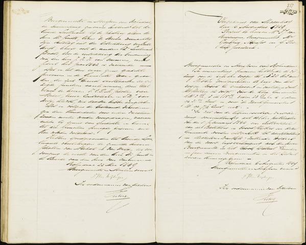 Roosendaal: Notulen van burgemeester en assessoren, 1827-1851 1849