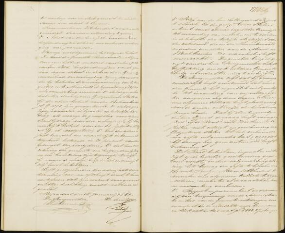 Roosendaal: Notulen gemeenteraad, 1851-1917 1861