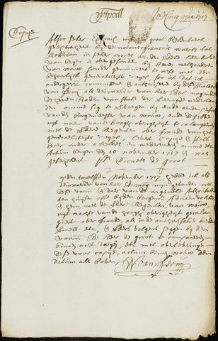 Wouw: Minuten van resoluties, 1710-1729 1717