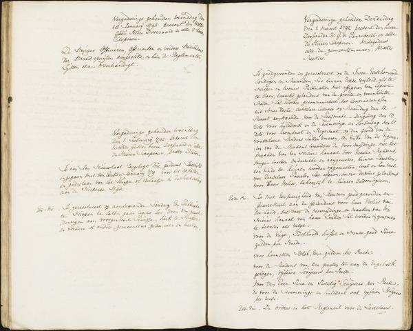 Roosendaal: Registers van resoluties, 1671-1673, 1675, 1677-1795 1792