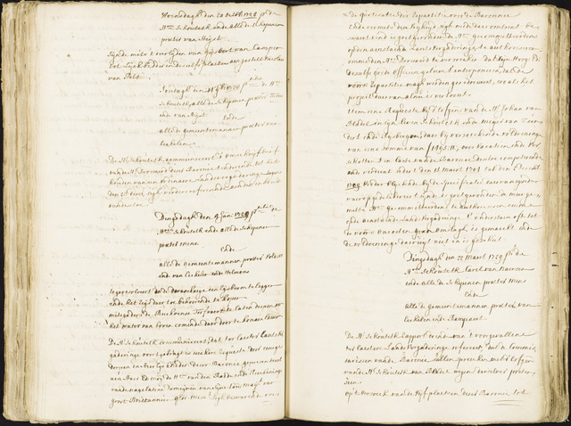 Roosendaal: Registers van resoluties, 1671-1673, 1675, 1677-1795 1729