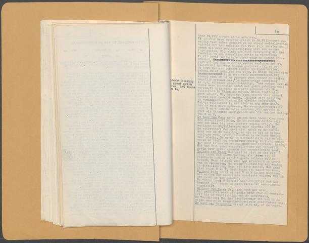 Etten-Leur: Notulen gemeenteraad (besloten), 1946-1950 1950-01-01