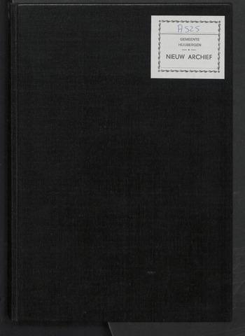 Huijbergen: Notulen gemeenteraad 1935-1996 1963-01-01