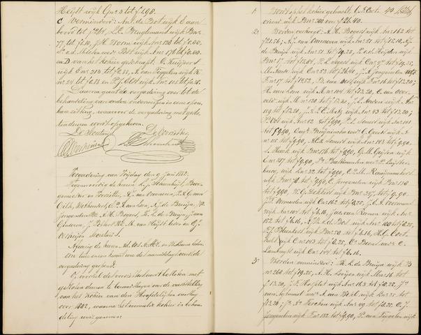 Roosendaal: Notulen gemeenteraad (besloten), 1851-1916 1882