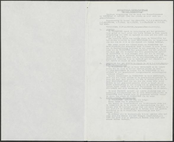 Nieuw-Vossemeer: Notulen gemeenteraad, 1957-1996 1966-01-01