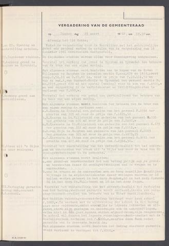 Rucphen: Notulen gemeenteraad, dec. 1949-1998 1962-01-01