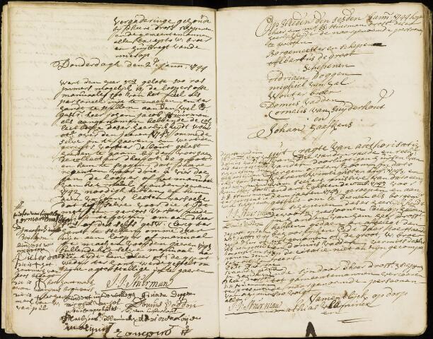 Wouw: Registers van resoluties, 1593-1811 1744