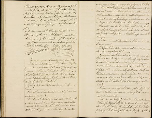 Roosendaal: Notulen gemeenteraad (besloten), 1851-1916 1881