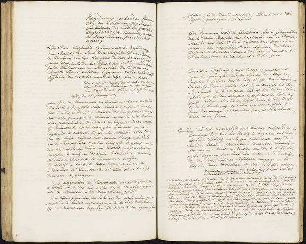Roosendaal: Registers van resoluties, 1671-1673, 1675, 1677-1795 1789