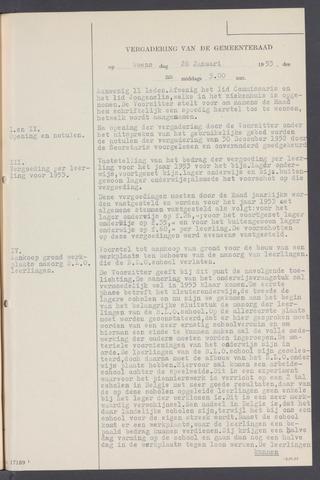 Rucphen: Notulen gemeenteraad, dec. 1949-1998 1953-01-01