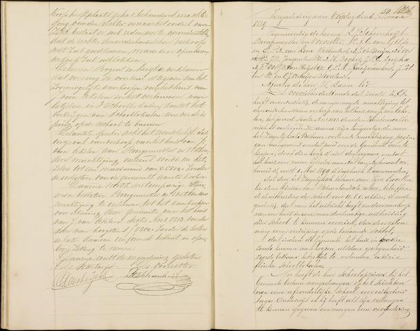 Roosendaal: Notulen gemeenteraad (besloten), 1851-1916 1889